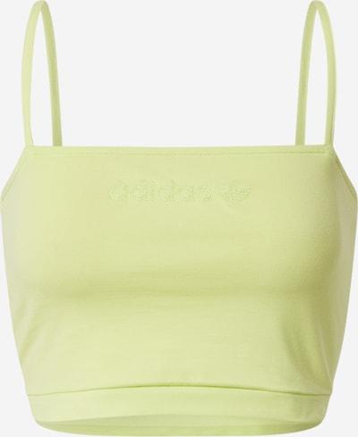 ADIDAS ORIGINALS Top | svetlo zelena barva, Prikaz izdelka