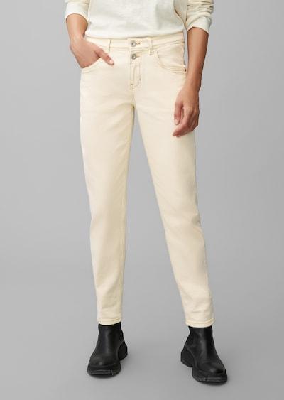 Marc O'Polo Jean 'THEDA' en beige, Vue avec modèle