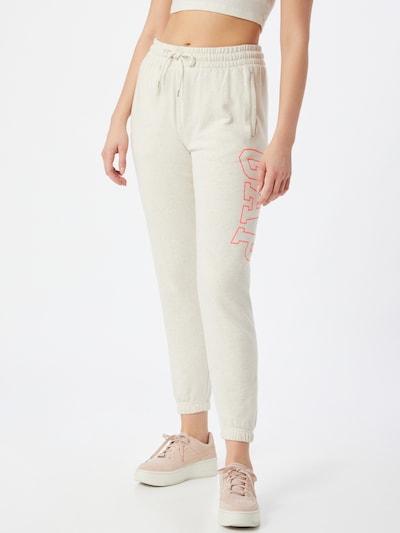 GAP Pantalon en crème / rose, Vue avec modèle
