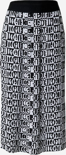 HUGO Svārki 'Ralissy' melns / balts, Preces skats
