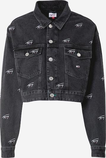 Demisezoninė striukė iš Tommy Jeans , spalva - juoda / balta: Vaizdas iš priekio