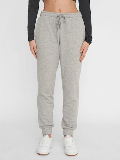 Noisy may Pantalon en gris, Vue avec modèle