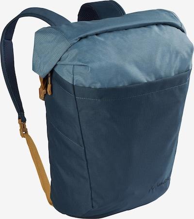 VAUDE Rucksack 'Kajam' in hellblau / dunkelblau / braun, Produktansicht