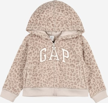 Jachetă  fleece de la GAP pe bej