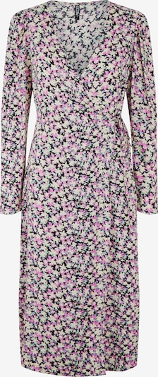 PIECES Kleid 'Carly' in mischfarben / schwarz, Produktansicht