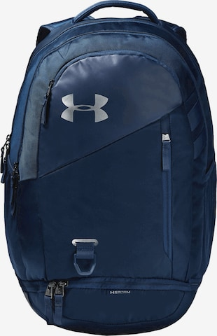 UNDER ARMOUR Sports Backpack 'Hustle 4.0' in Blue