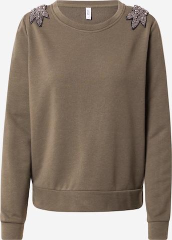 ONLY Sweatshirt 'SALLY' in Green