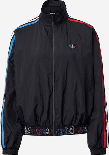 ADIDAS ORIGINALS Jacke 'Japona' in hellblau / hellrot / schwarz / weiß, Produktansicht