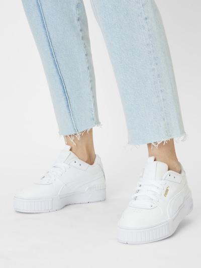 PUMA Sneaker in weiß: Frontalansicht