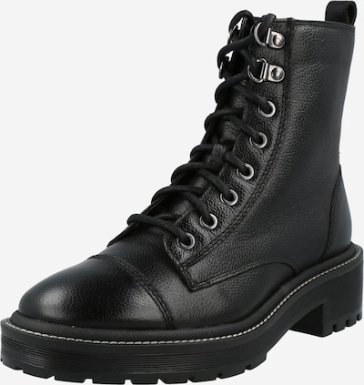 River Island Lace-Up Ankle Boots in Black, Item view