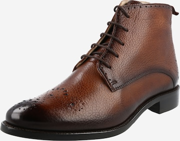 MELVIN & HAMILTON Lace-Up Ankle Boots 'Betty 4' in Brown