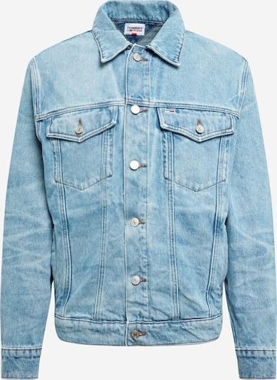 Tommy Jeans Jacke in blue denim, Produktansicht
