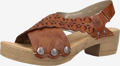 RIEKER Sandal i brun, Produktvy