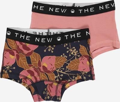 The New Unterhose in navy / dunkelorange / rosa / schwarz / weiß, Produktansicht