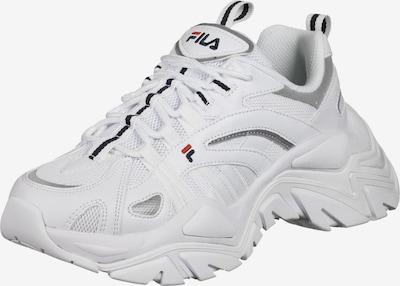 FILA Baskets basses 'Electrove' en gris / blanc, Vue avec produit
