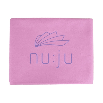 nu:ju Mikrofaser Badetuch in lila, Produktansicht