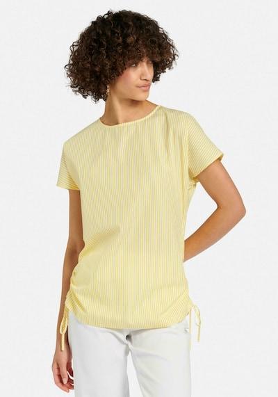 Peter Hahn Blouse in de kleur Geel, Modelweergave
