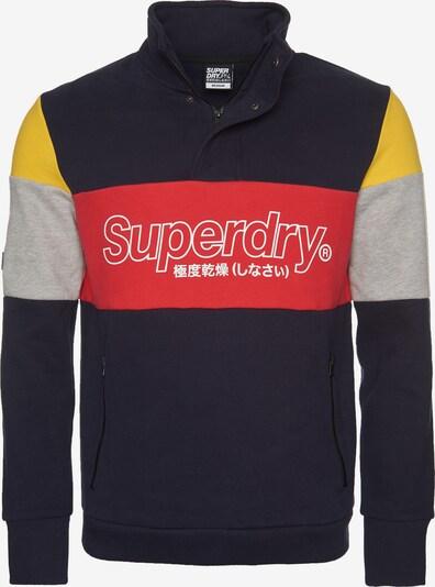 Superdry Sweatvest in de kleur Marine / Gemengde kleuren, Productweergave
