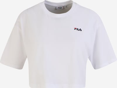 FILA Majica u mornarsko plava / vatreno crvena / bijela, Pregled proizvoda