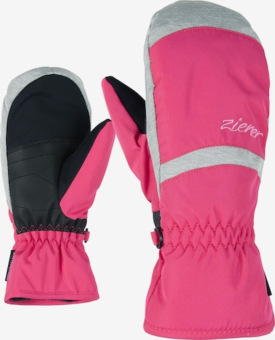 ZIENER Skihandschuhe 'LEJANOS AS(R) MITTEN JUNIOR' in pink, Produktansicht