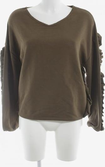 UNBEKANNT Sweatshirt in L in khaki, Produktansicht