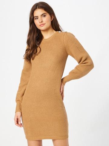 ruda NAF NAF Megzta suknelė