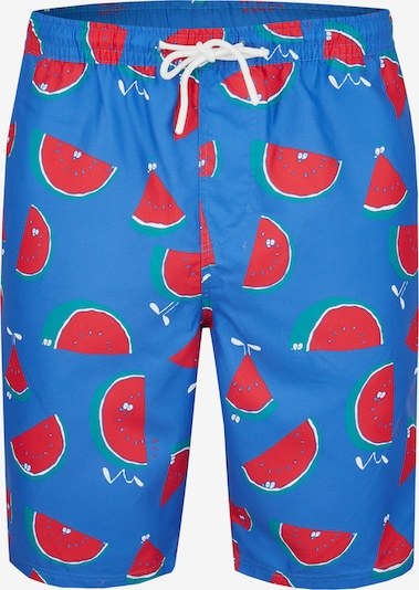 Lousy Livin Badeshorts 'Melons' in royalblau, Produktansicht