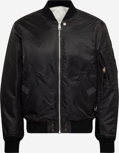 DIESEL Tussenjas 'ROSS' in de kleur Donkergrijs / Zwart, Productweergave
