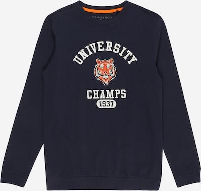 OVS Shirt in navy / orange / weiß, Produktansicht