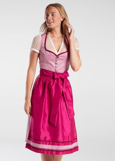 SPIETH & WENSKY Dirndel in pink / rosa, Modelansicht