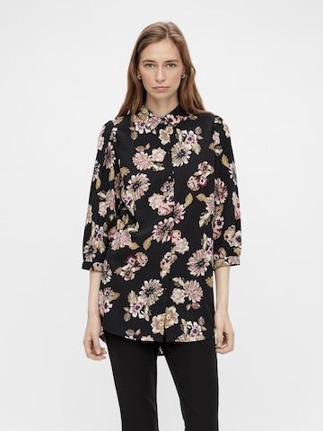 PIECES Блуза 'Ember' в черно