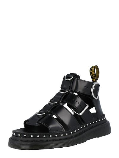 Masivní kožené sandály 'Mackaye' značky Dr. Martens v černé barvě