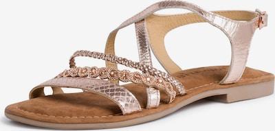 TAMARIS Sandale in kupfer, Produktansicht