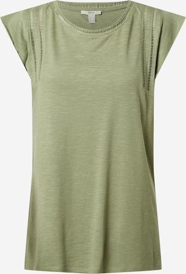 ESPRIT Shirt in de kleur Kaki, Productweergave