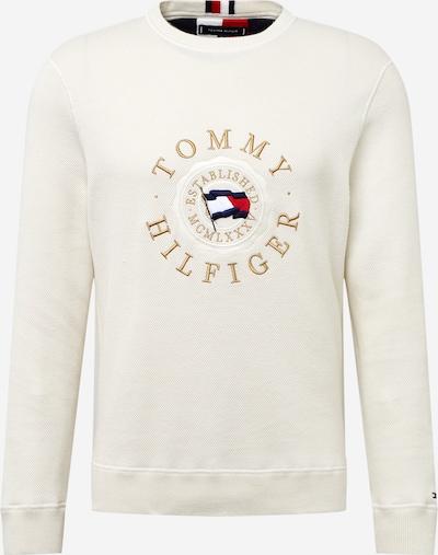 TOMMY HILFIGER Sweatshirt in navy / gold / feuerrot / naturweiß, Produktansicht