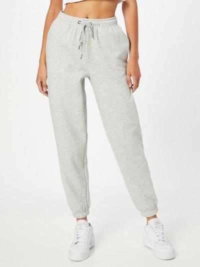 ONLY Pantalon 'Feel' en gris clair, Vue avec modèle