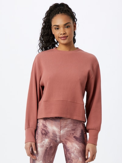 Varley Sportsweatshirt 'Maybrook' in pastellrot: Frontalansicht