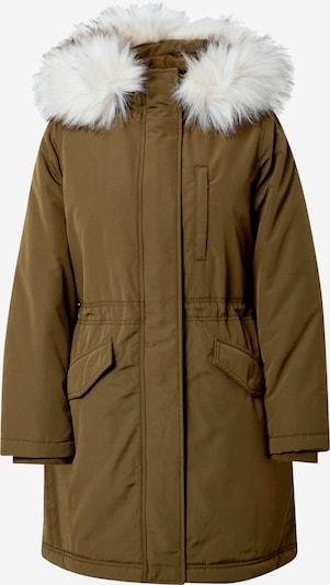 GAP Zimska jakna | kaki / bela barva, Prikaz izdelka