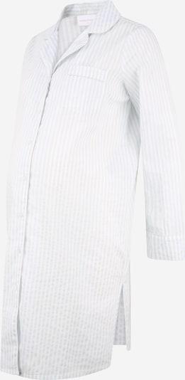 MAMALICIOUS Nachthemd 'JETTE' in de kleur Lichtblauw / Wit, Productweergave