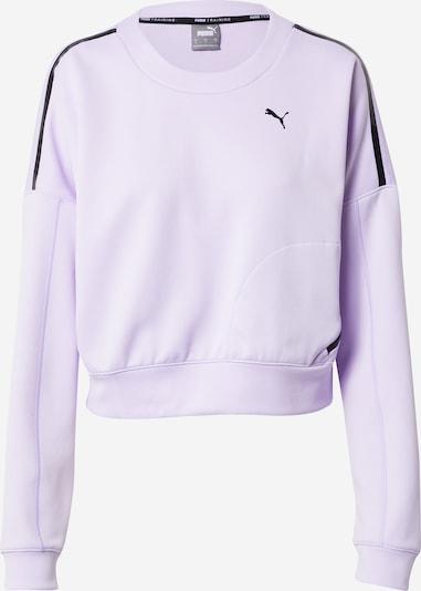 PUMA Sport sweatshirt i lavendel / svart, Produktvy