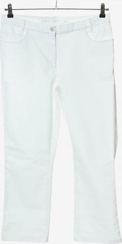 STEHMANN Stiefelhose in L in Weiß