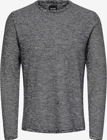 Only & Sons Sweater 'Niko' in Blue