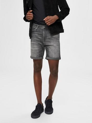 SELECTED HOMME Jeans i grå