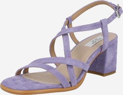 Steven New York Remienkové sandále 'GRACY' - svetlofialová: Pohľad spredu
