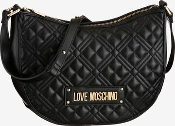 Love Moschino Crossbody Bag 'Hobo' in Black
