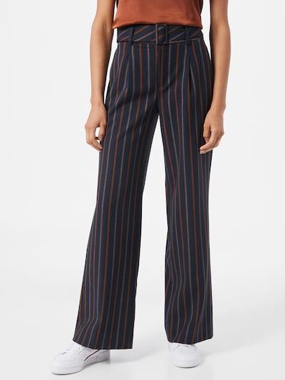 sötétkék / rozsdabarna Banana Republic Élére vasalt nadrágok, Modell nézet