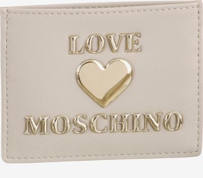 Love Moschino Portemonnaie in gold / offwhite, Produktansicht
