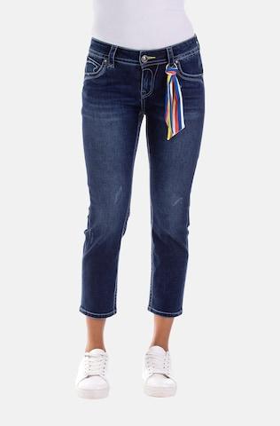 Blue Monkey Jeans 'Charlotte' in Blue
