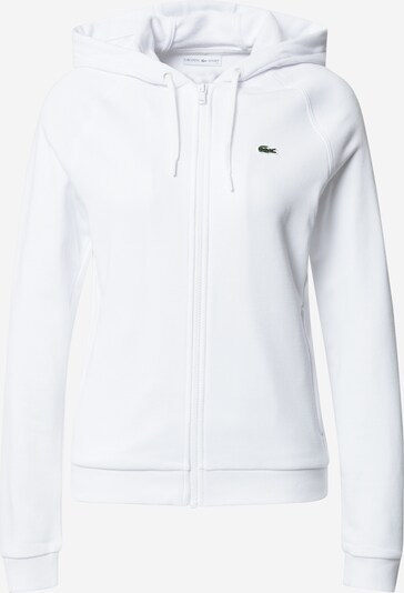 LACOSTE Sweatjacke in weiß, Produktansicht