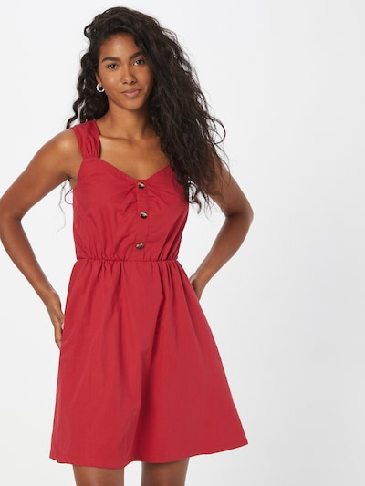 NAF NAF Kleid in rot, Modelansicht
